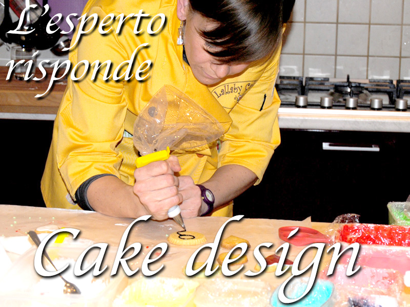 L'esperto risponde: cake design