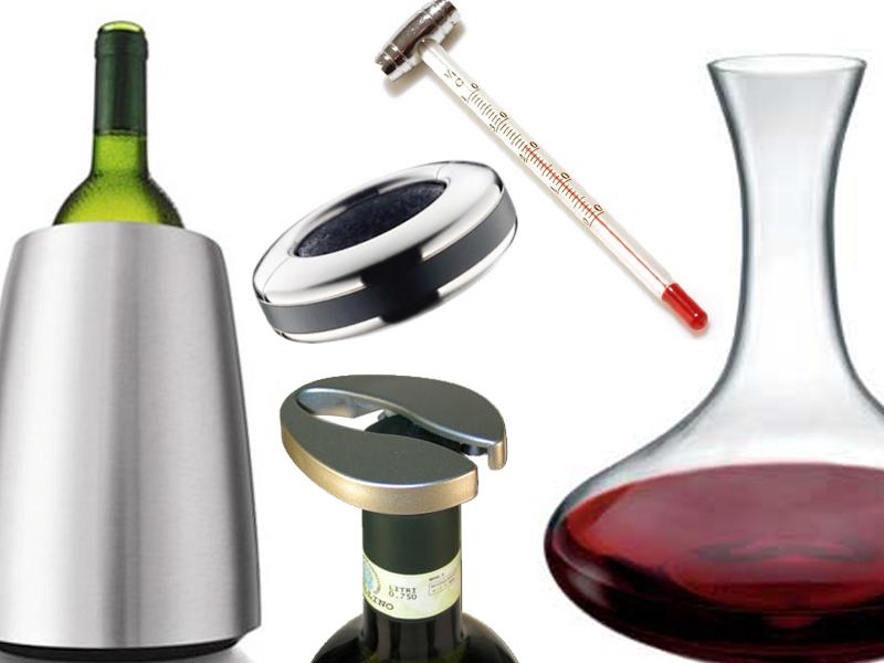 Accessori da vino descrizione e usi alimentipedia enciclopedia degli alimenti - Accessori vino design ...