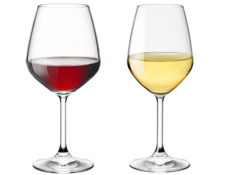 Bicchieri tipologie di bicchieri da vino alimentipedia - Disposizione bicchieri in tavola ...