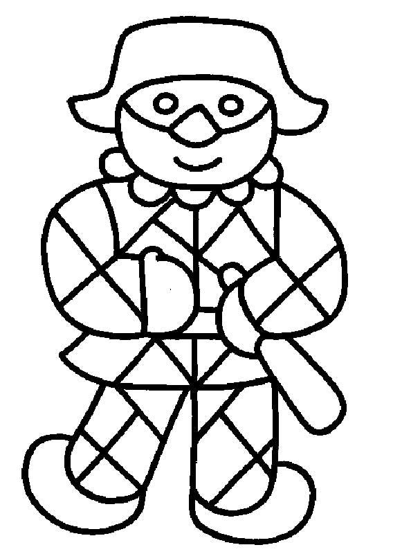 Disegni per decorare con ghiaccia alimentipedia for Schede carnevale da colorare