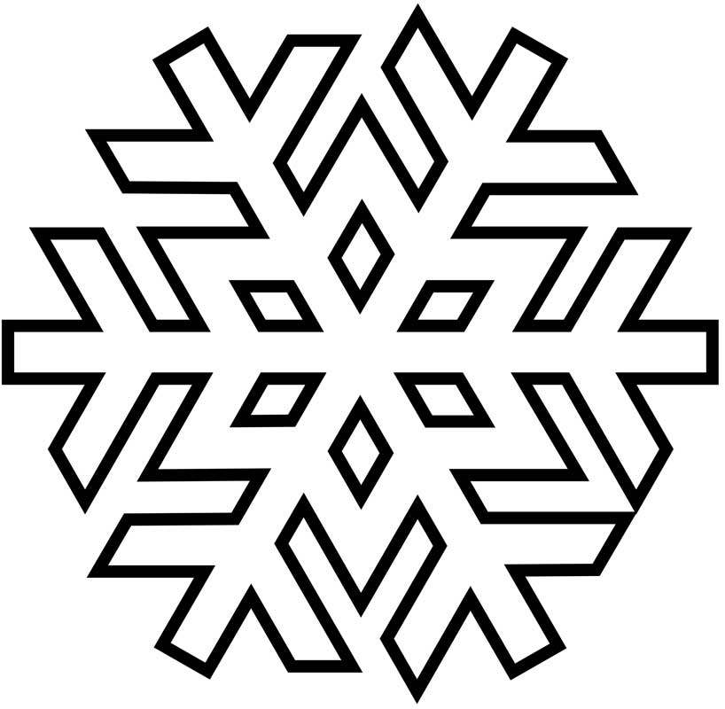 winter cut out coloring pages - photo#36