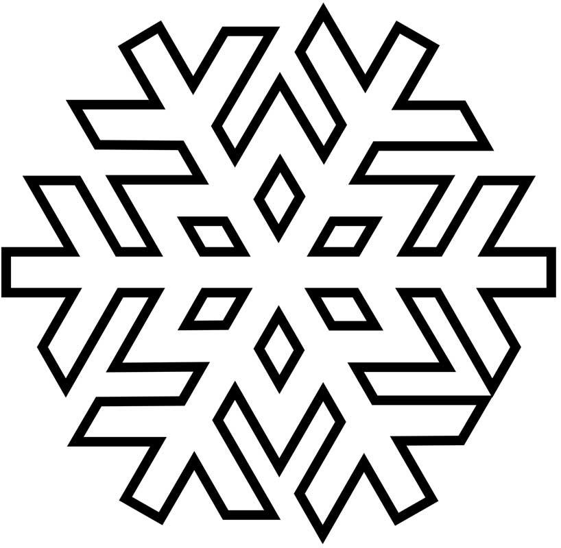 Disegni per decorare con ghiaccia alimentipedia for Fiocco di neve da ritagliare