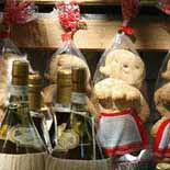 Pupazze con vino Frascati