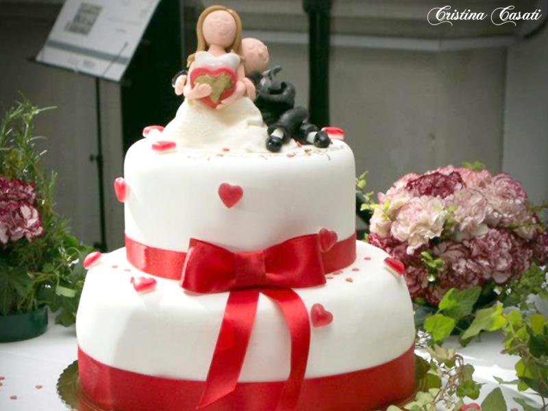 Wedding cakes storia della torta nuziale alimentipedia for Piani del giroletto in stile missione