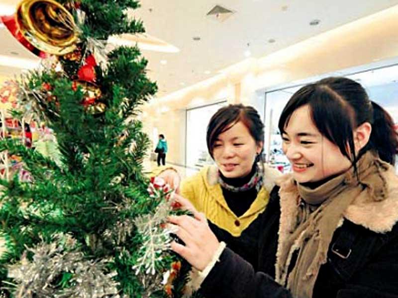Decorazioni Natalizie Wikipedia.Natale In Cina Pranzo E Simboli Alimentipedia It