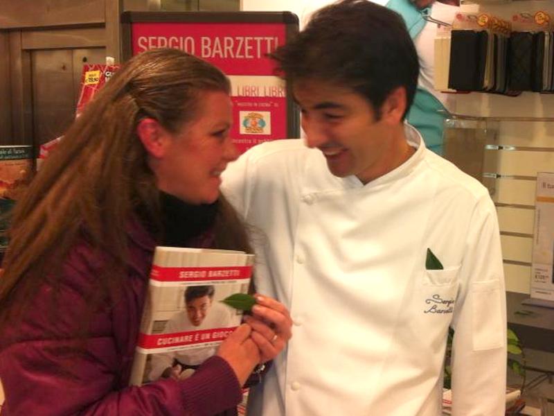 Federica Spelta (Alimentipedia) con Sergio Barzetti