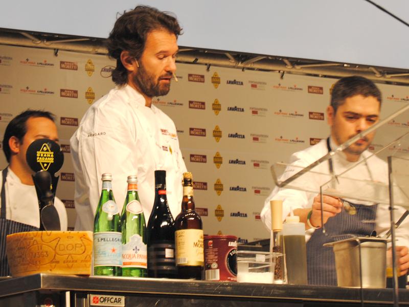 Carlo Cracco e Matteo Baronetto a Identità Golose 2013