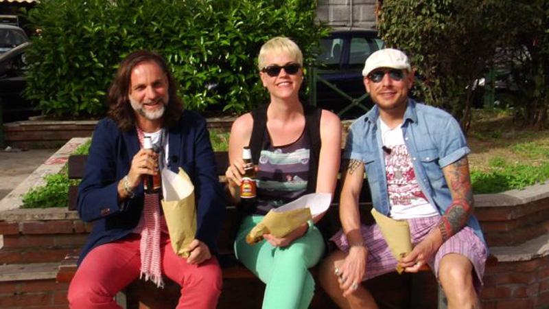 Mauro, Laurel e Francesco