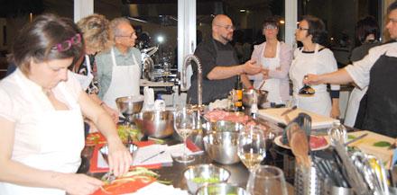 Lezione con lo chef Andrea Alfieri