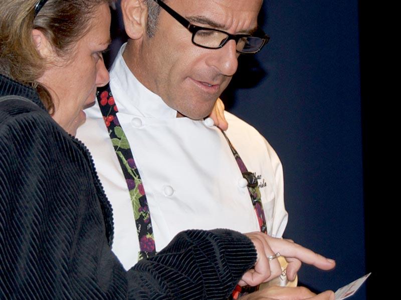 Massimiliano Mariola e Federica Spelta