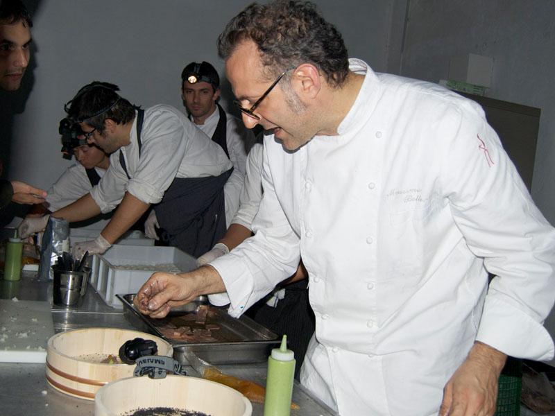 Massimo Bottura a Le Grand Fooding