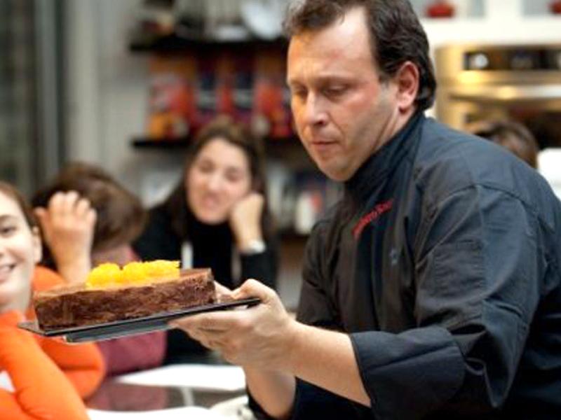 Maurizio Santin, il cuoco nero
