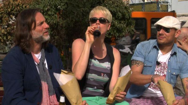 Mauro, Laurel e Francesco in Street Food Heroes