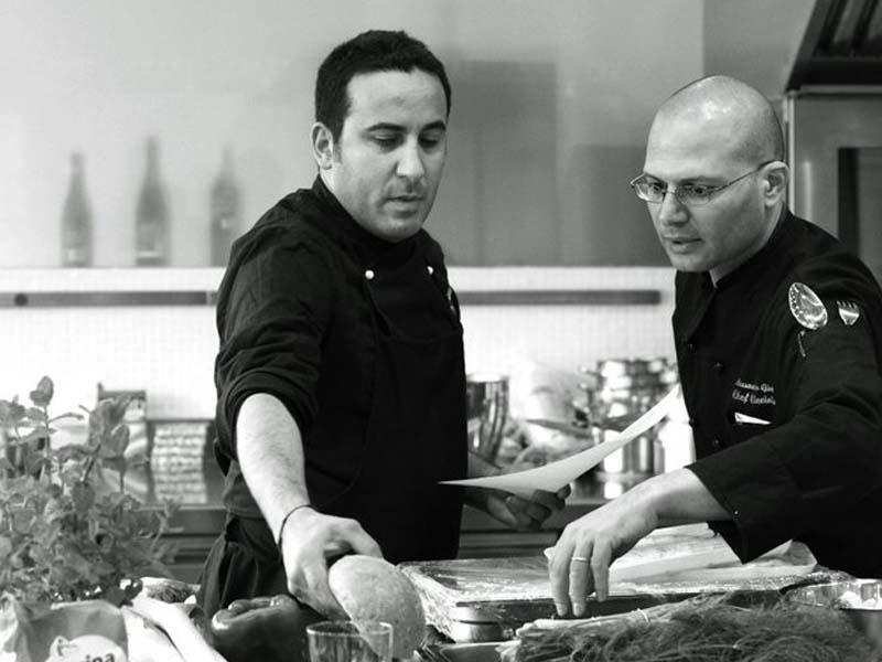 Natale Giunta alla Scuola di cucina Incontri con lo chef. Foto di Mariachiara Montera