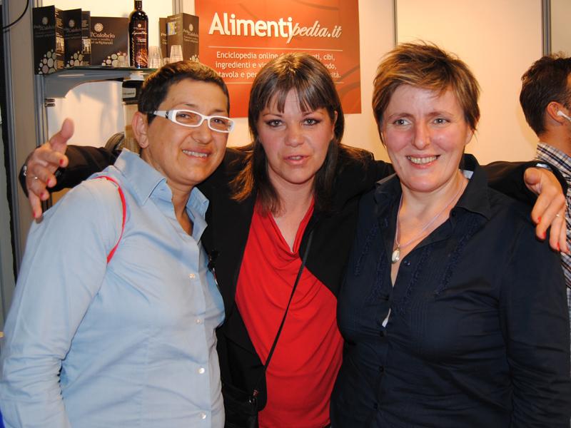 Sandra Ciciriello, Federica Spelta e Viviana Varese
