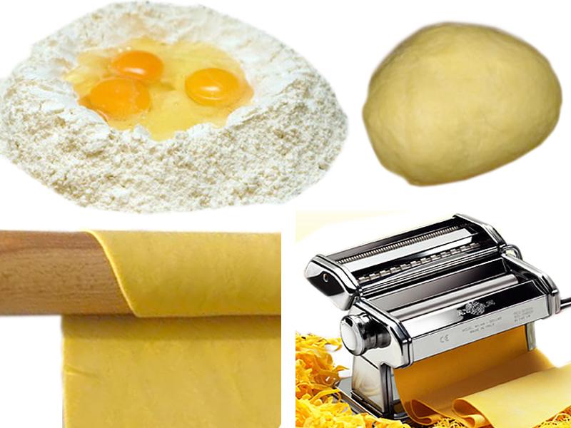 Pasta fresca all 39 uovo come si fa consigli e utensili - Impastatrice per pasta fatta in casa ...