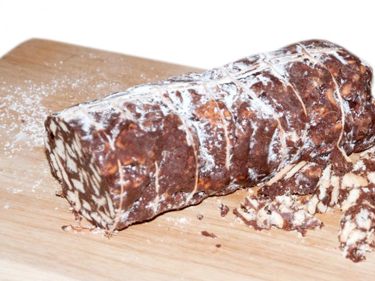 Ricetta Torta Salame Al Cioccolato.Salame Di Cioccolato Ricetta Facile Senza Forno Alimentipedia It