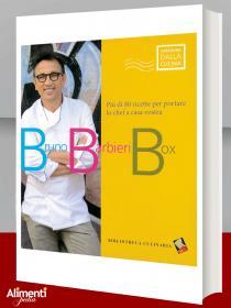 Bruno Barbieri Box cofanetto con tre libri di Bruno Barbieri