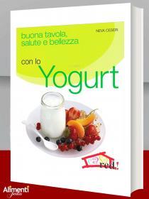 Libro: Buona tavola, salute e bellezza con lo yogurt
