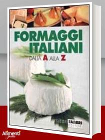 Copertina Formaggi italiani dalla A alla Z