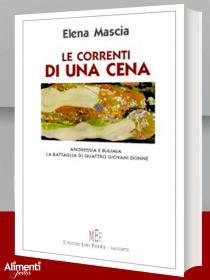 Libro: Le correnti di una cena. Anoressia e bulimia