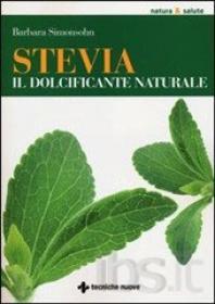 Copertina del libro sulla Stevia