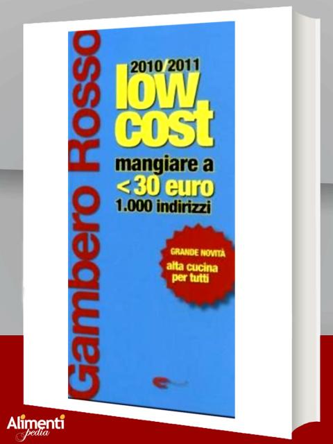 Gambero Rosso low cost 2010-2011