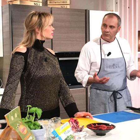 Anna Falchi con Andrea Matranga
