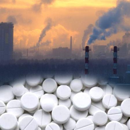 Aspirina e inquinamento atmosferico
