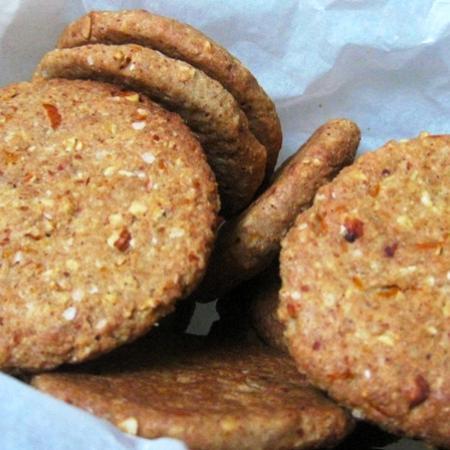 Biscotti di quinoa e arance