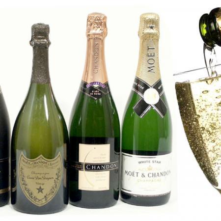 Le bollicine. Champagne e spumante.