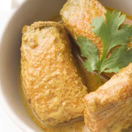 Branzino al curry
