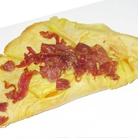 Crespelle (crêpes) di zucca