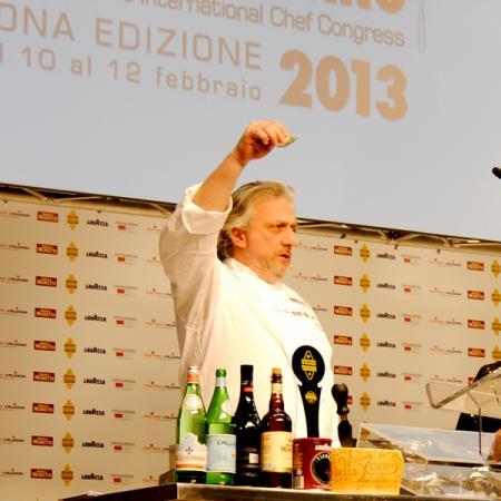 Davide Scabin: i piatti italiani nello spazio