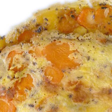 Frittata di carote