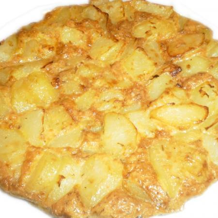 Frittata con patate
