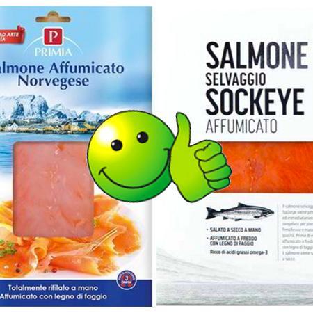 Salmone Primia e Sockeye