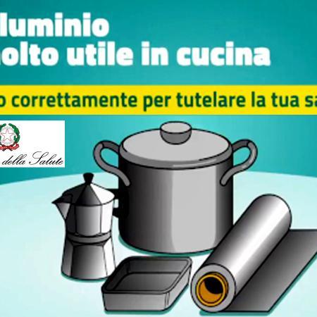 Campagna informativa su alluminio