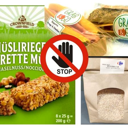 Altri prodotti con semi di sesamo richiamati