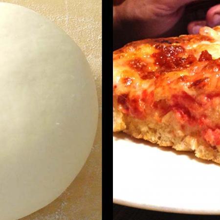 Impasto per pizza fatta in casa