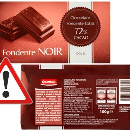 Cioccolato Noir Conad