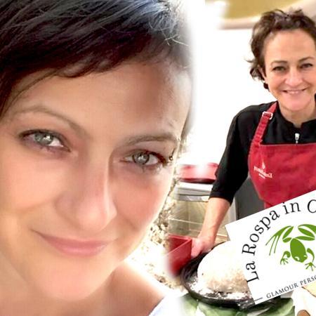Romana Spagnoli, nota come La Rospa in cucina