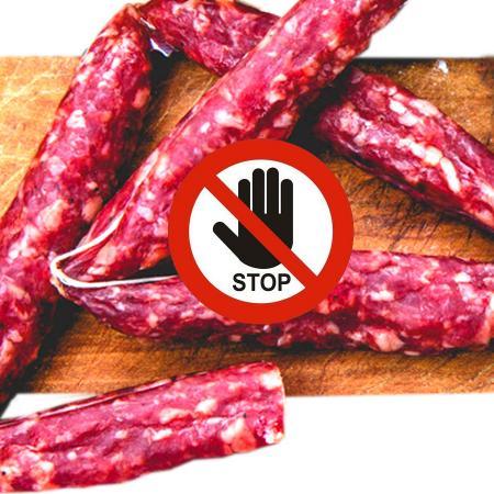 Salsiccia abruzzese richiamata