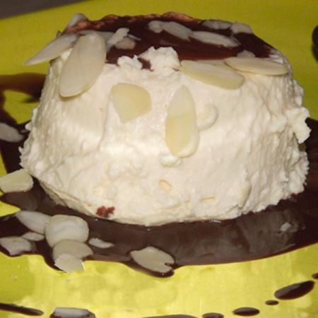Semifreddo di cioccolato e ricotta