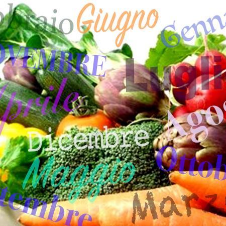 Calendario verdura di stagione mese per mese