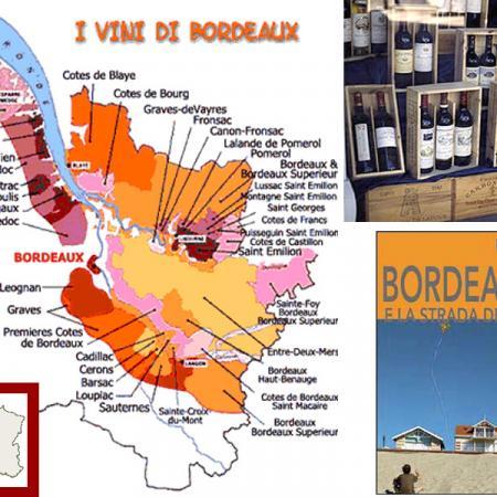 Vini francesi di Bordeaux