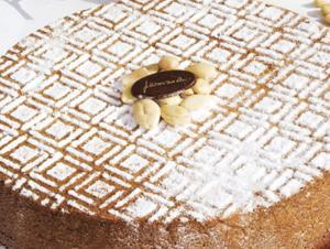 Caprese al cioccolato bianco