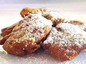 Frittelle di Pandoro