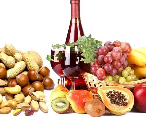 Abbinamento del vino con la frutta fresca e secca