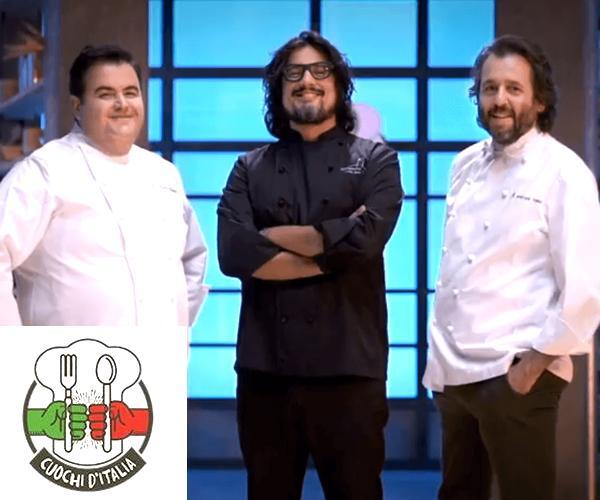 Gennaro Esposito, Alessandro Borghese, Cristiano Tomei